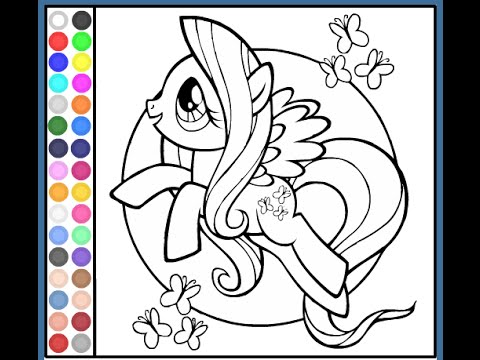 My Little Pony Coloring Pages For Kids  My Little Pony Coloring