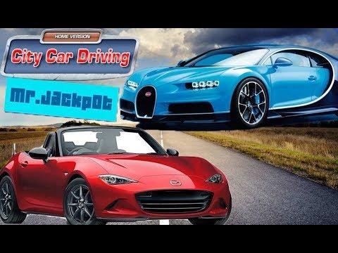 Bugatti Chiron-Mazda MX5/Test Drive/ City Car Driving #14