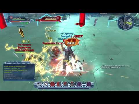 DCUO: Electricity DPS PvP Loadout and Gameplay
