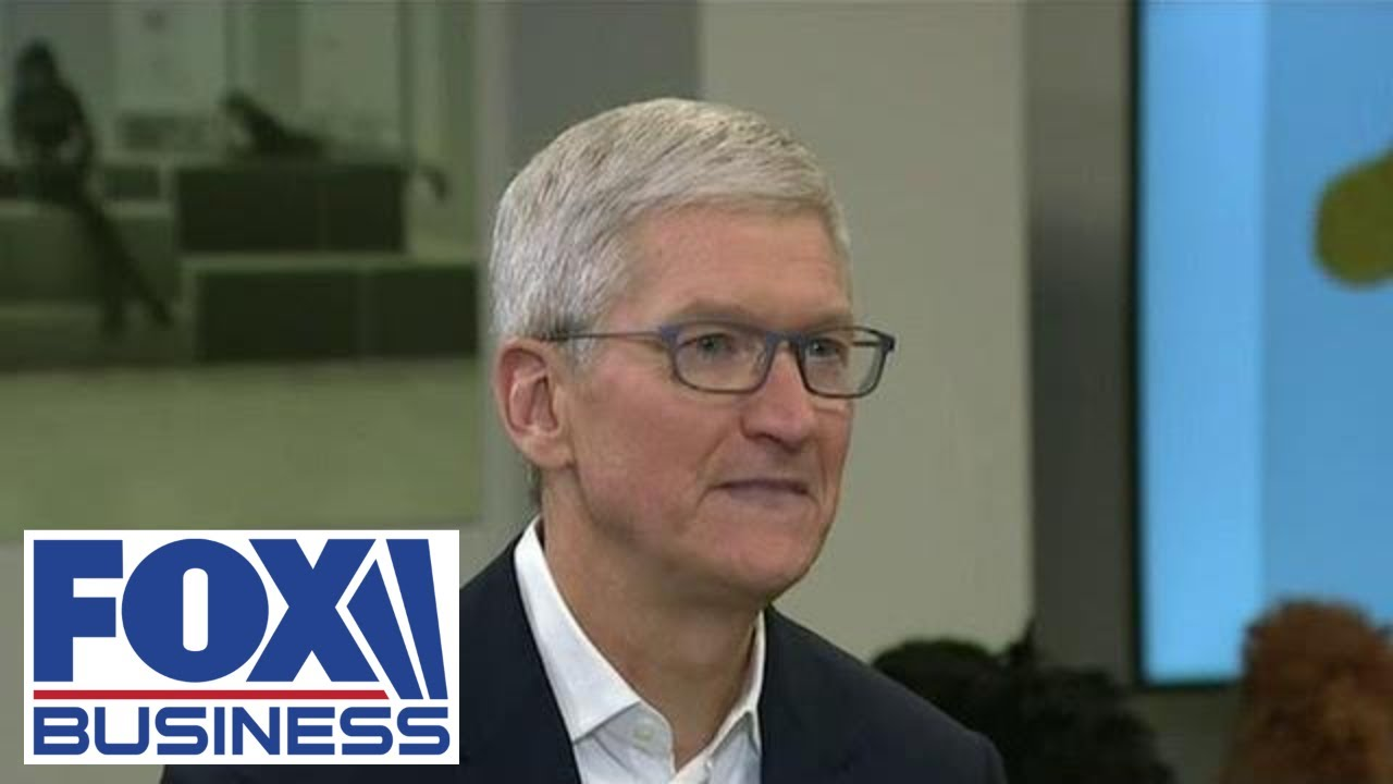 Exclusive: Apple CEO Tim Cook talks coronavirus, working with Trump