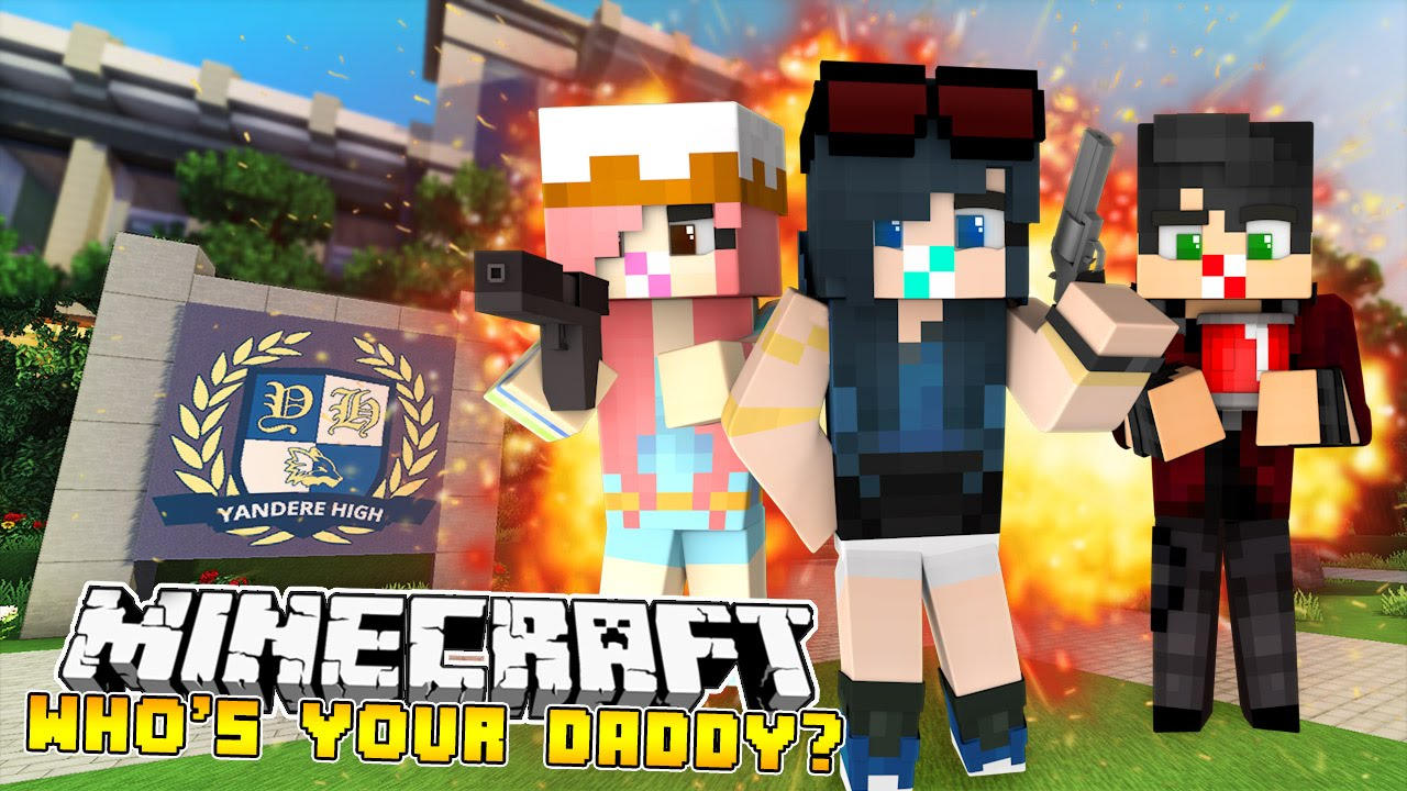 Minecraft Who's Your Daddy - FIELD TRIP TO YANDERE HIGH!