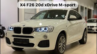 BMW X4 F26 20d xDrive M-sport