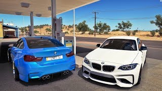 Forza Horizon 3 Online - RACHA DE BMW M2 VS BMW M4 - GOPRO