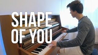Ed Sheeran Shape of You Piano cover by Peter Buka