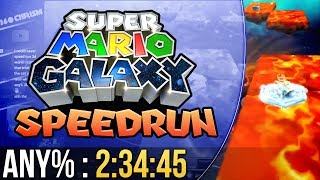 Super Luigi Galaxy Any% Speedrun in 2:34:45