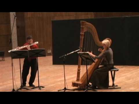 Yossi Hamami - The Western East - Bass Flute & Harp - Part 3