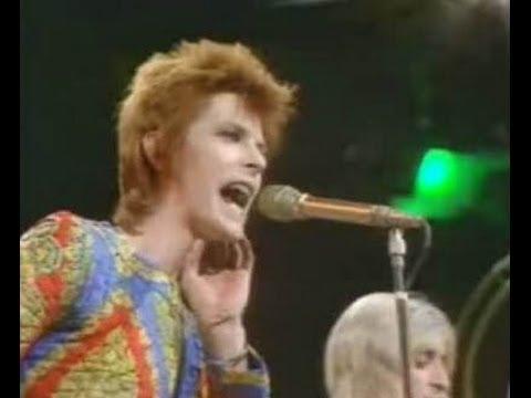 """Starman"" w/Lyrics- David Bowie"