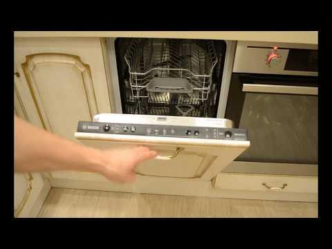 Первый запуск посудомоечной машины Bosch. Посудомоечная машина BOSCH. Посудомойка.