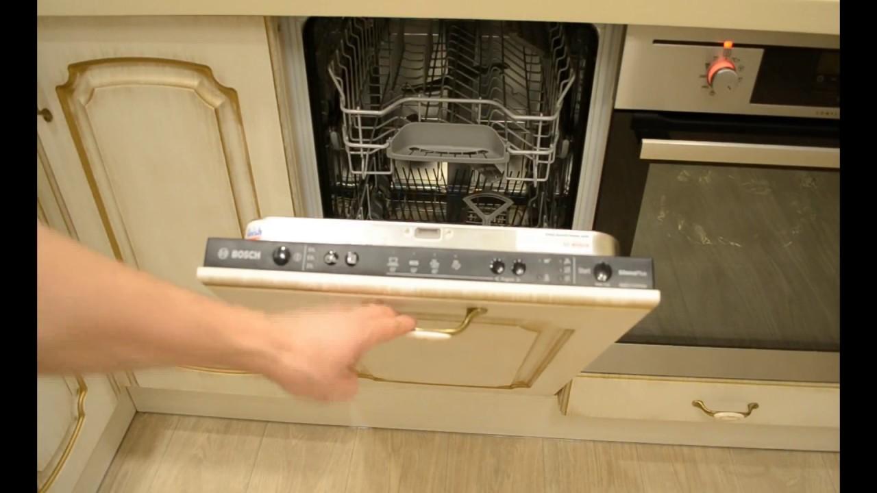 Посудомоечная машина Bosch SPV 69T70 RU - YouTube