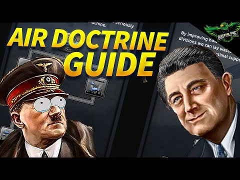 HOI4 Air Doctrine Guide (Hearts of iron 4 Air Doctrine