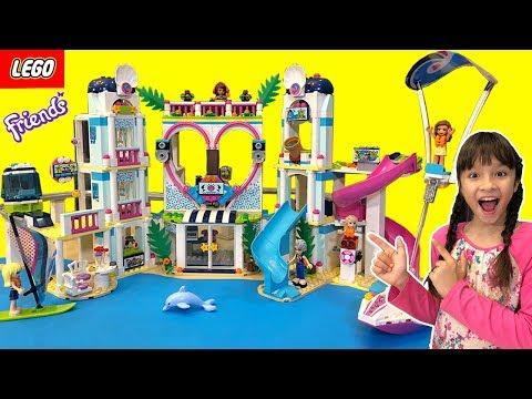 บรีแอนน่า | ละครสั้นหรรษา 🔴 บรีแอนน่าและผ่องเพื่อนจากของเล่น Lego Friends สุดอลังการ จากลาซาด้า