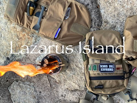 Overnight Camping at Lazarus Island | Solostove Lite for Breakfast and Coffee