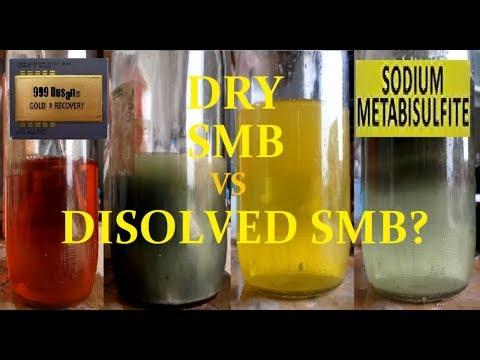 DRY SMB vs DISOLVED SMB gold drop!