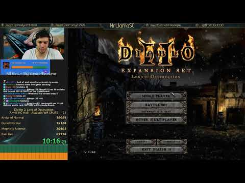 Diablo 2 - Hell HC Assassin - Progress! - But seriously let me tell you about fire enchanted beetles