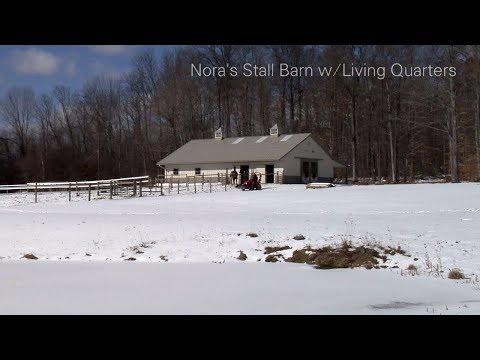 Nora's Stall Barn w/Living Quarters