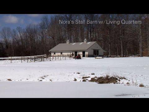 Nora's Stall Barn W/Living Quarters