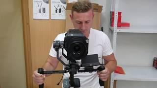 Электронный стедикам Tilta Gravity G2x, камера Sony FS7, монитор Lilliput a5 тест