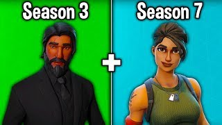 The Most TRYHARD SKIN of EVERY SEASON! (Fortnite Season 1-8)