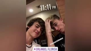 Cash, Maverick and Other Tik Tok Stars IG Stories and Tik Tok Videos