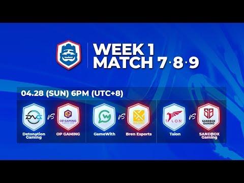 2019 CRL 亞洲賽區 S1 - 季賽第1週第3天