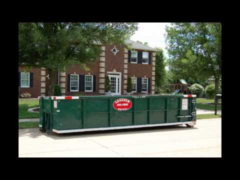 (563) 332-2555 West Branch Iowa Garbage Dumpster Rental Comp