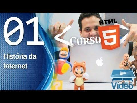 Curso HTML5 - 01 - História da Internet - by Gustavo Guanabara
