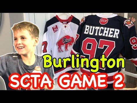 Kid HocKey Triple A Regular Season Game Buffalo Regals Vs Burlington SCTA Novice