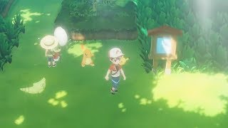 POKEMON LET'S GO PIKACHU/EEVEE Gameplay Demo - Nintendo E3 2018 Showcase