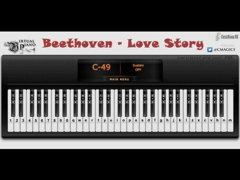 Beethoven - Love Story [Virtual Piano]