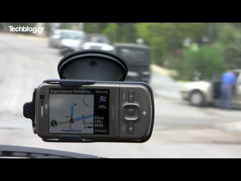 Nokia 6710 Navigator on the road GPS hands on