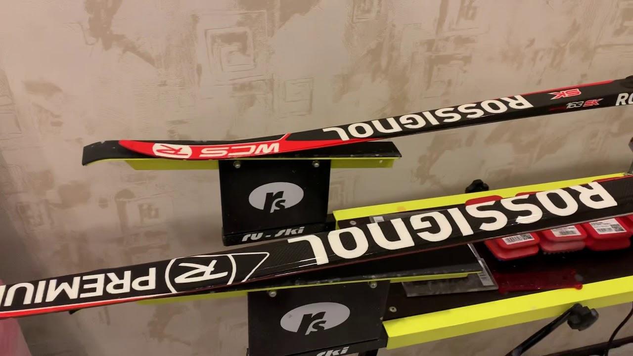 Как отличить беговые лыжи Rossignol Французского Спортцеха от Испанских лыж