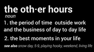 The Other Hours