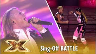 Giovanni Spano vs Acacia & Aaliyah Sing-Off 😲 | Live Shows 4 | The X Factor UK 2018