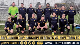 BBFA Junior Cup (Last 8) Goal Highlights: Hanslope FC Reserves vs. Hype Train FC