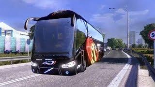 Game | Euro Truck Simulator 2 Bus MOD1 | Euro Truck Simulator 2 Bus MOD1