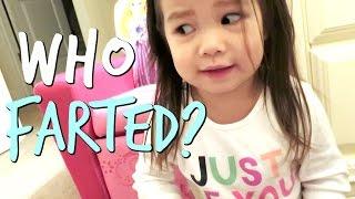 WHO FARTED?! - October 30, 2016 -  ItsJudysLife Vlogs
