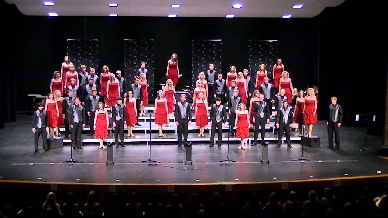 2012 Lincoln East Express Show Choir - Impossible Dream.avi - YouTube