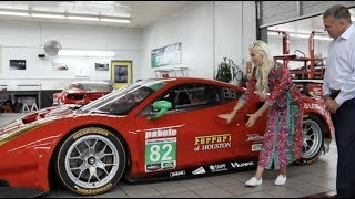 How to start a Ferrari race car - Risi Competizione