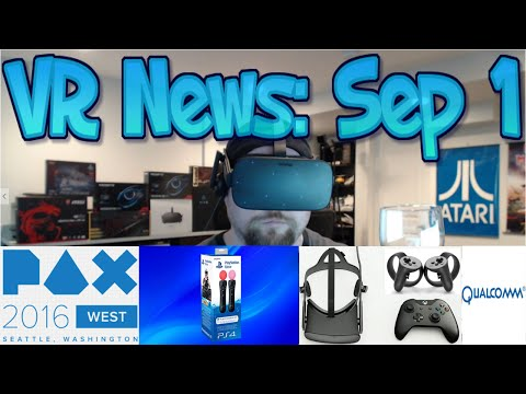 VR News: Sep 1 - PS Move Life? - Samsung Notes Burning!? - Qualcomm HMD & More!