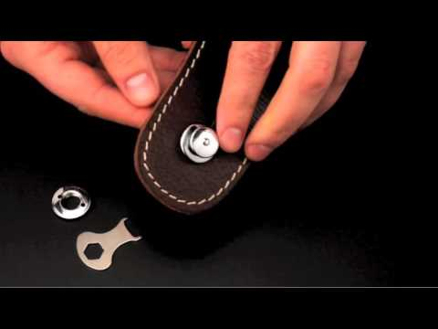 §恩心樂器批發§ 德國製 LOXX 螺絲組 4支裝 16MM 安全背帶扣 背帶釘 尾釘 吉他 貝斯 烏克麗麗 銀 電鍍鎳