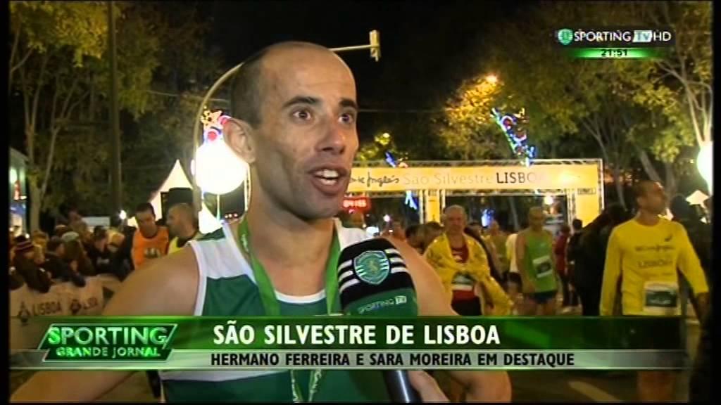 Atletismo :: Hermano Ferreira (Sporting) vence São Silvestre de Lisboa em 2014