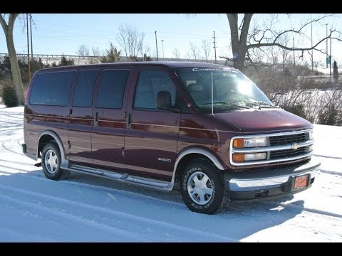 1999 Chevrolet Express Conversion Van For Sale Dealer Ohio
