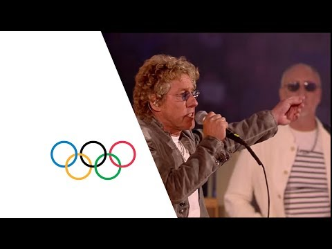 Thumbnail: The Who London 2012 Performance | Extinguishing the Olympic Flame