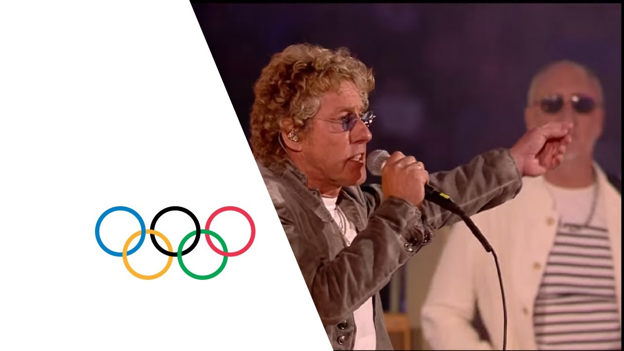 The Who London 2012 Performance | Extinguishing the Olympic Flame