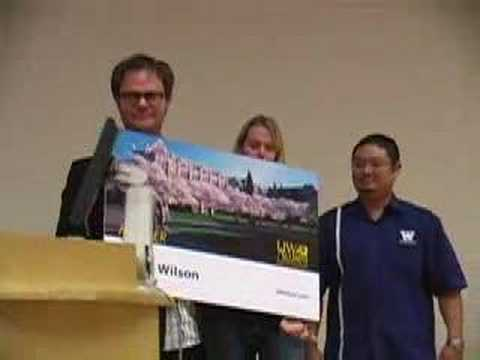 Rainn Wilson Joins the UW Alumni Association