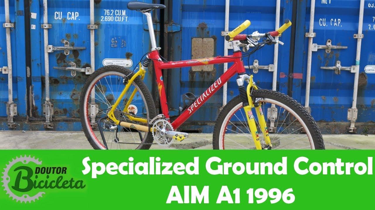 d87cb2e061e Conheça a Specialized Ground Control AIM A1 1996 - YouTube