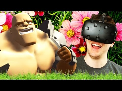SUPER AWESOME HAPPY FUN TIME ADVENTURE! - Gorn Gameplay - Gorn Campaign Update - VR HTC Vive