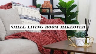 THE ULTIMATE LIVING ROOM MAKEOVER ON A BUDGET! | Styling & Organizing My Apartment | Kenny Manalad