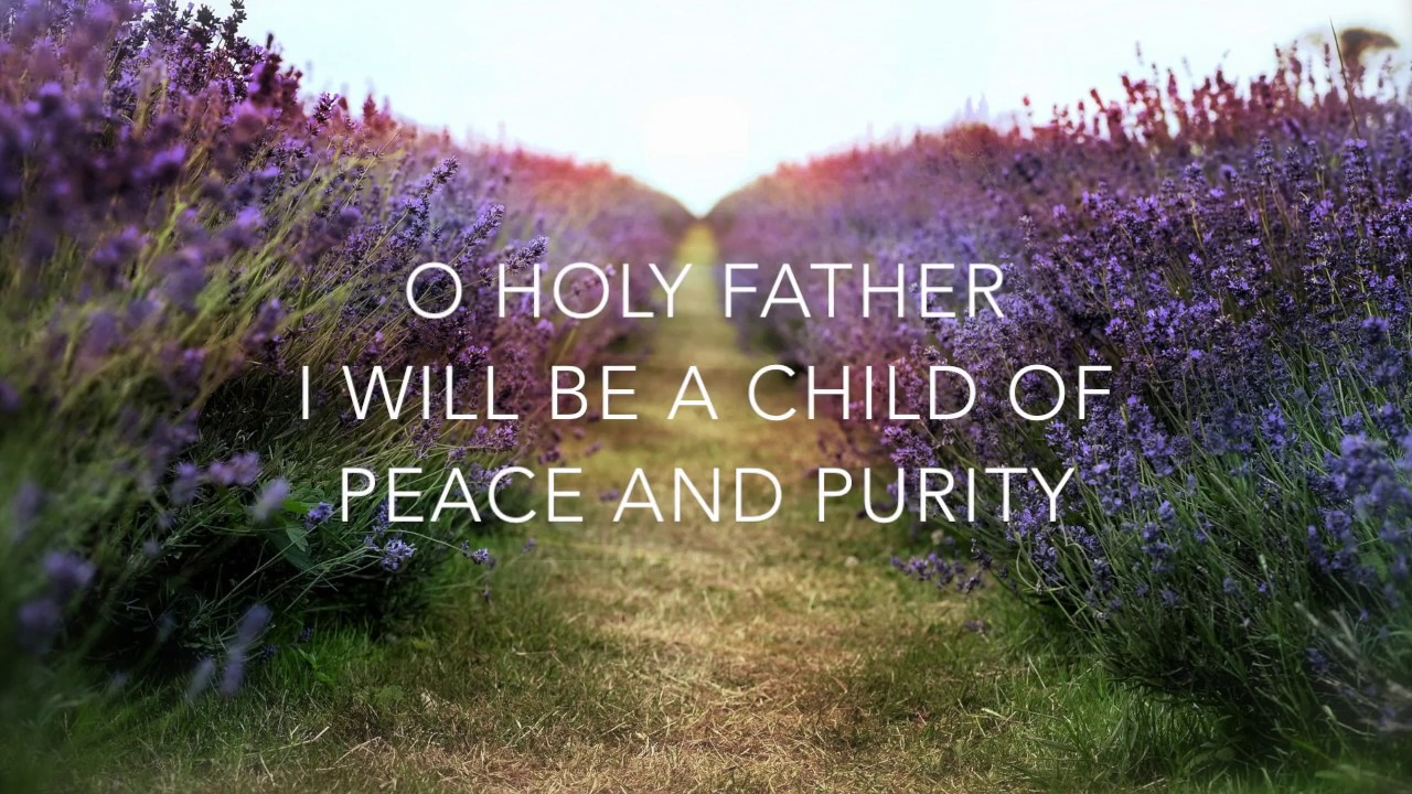 I Will Be a Child of Peace - SSA