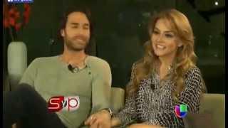 Repeat youtube video Angelique Boyer y Sebastián Rulli por primera vez hablan de su relación